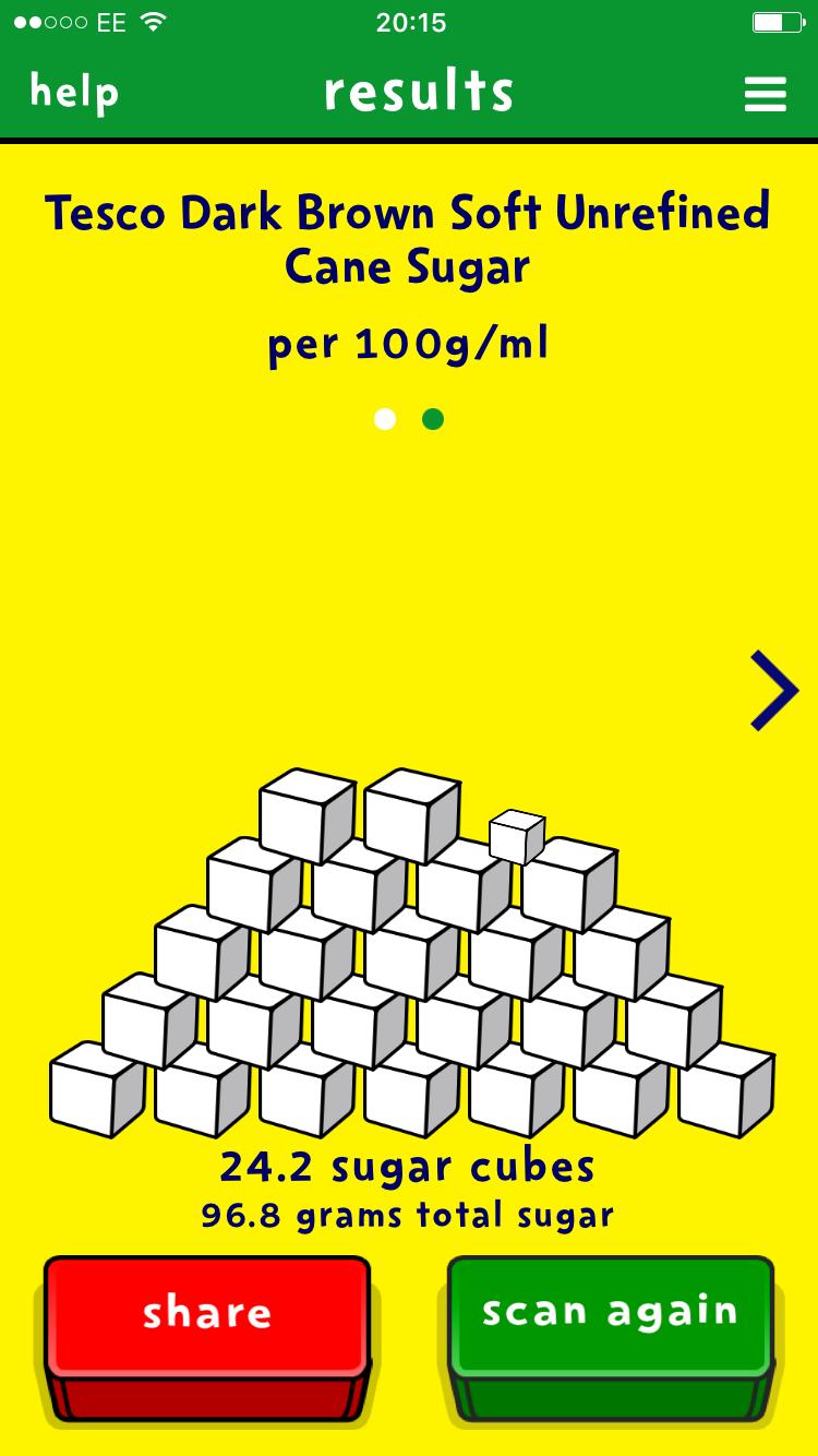 Sugar Smart App goes weird